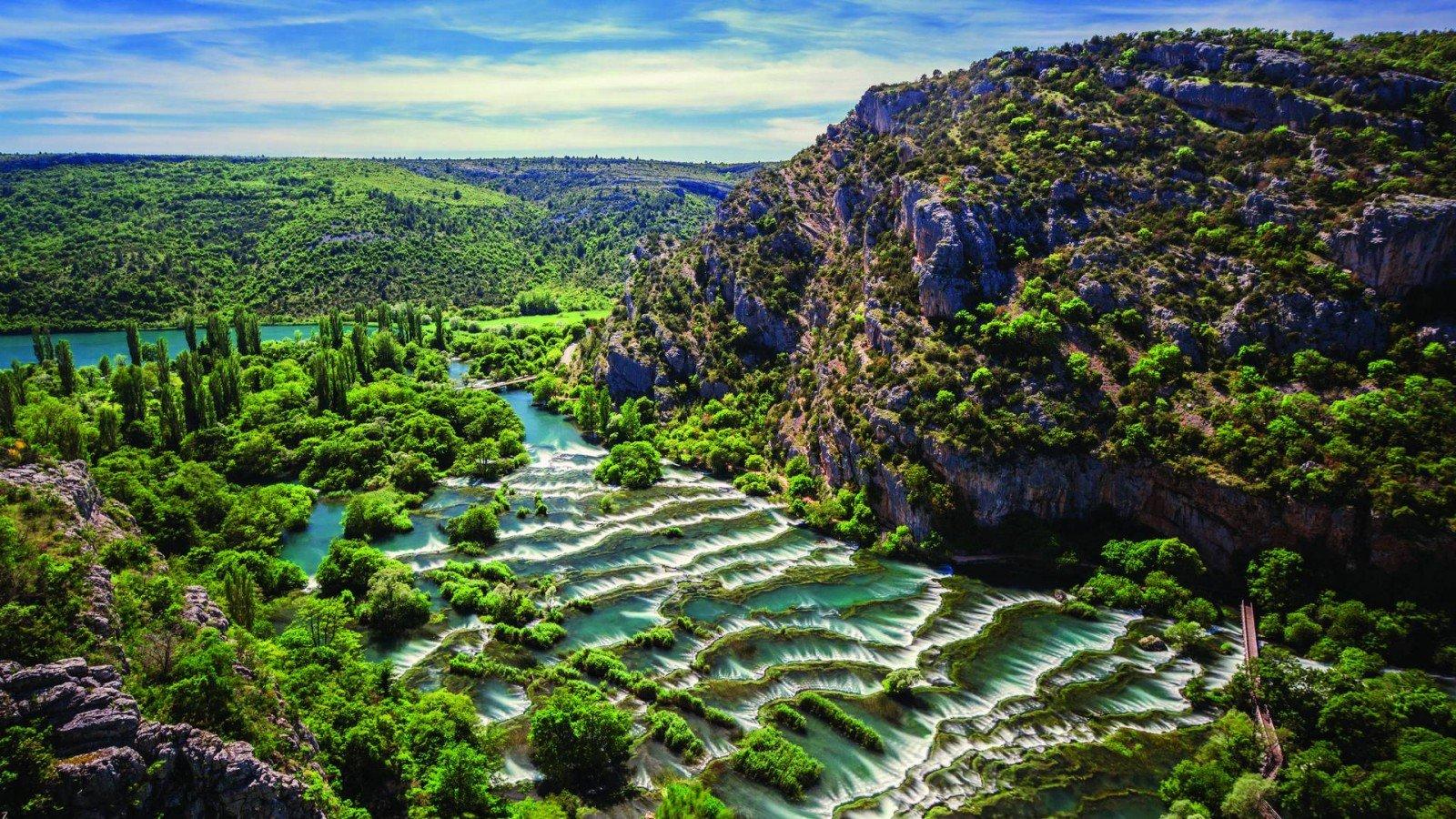 N.P. Krka Waterfalls, Šibenik & Primošten