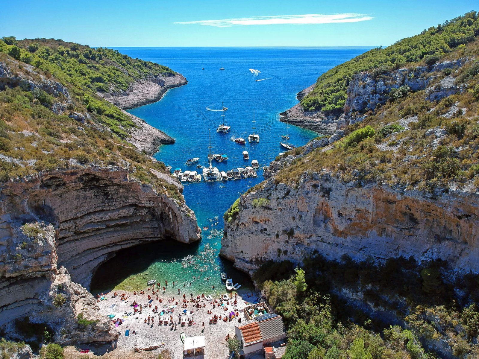 Islands Vis, Hvar & Blue Cave
