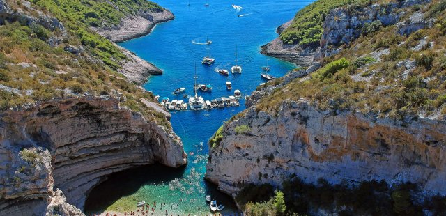 Islands Vis, Hvar & Blue Cave